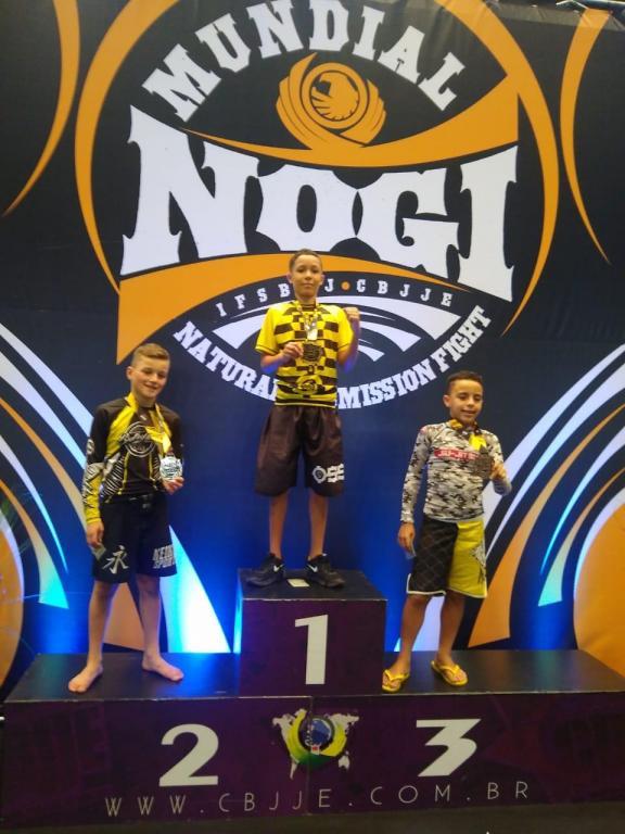 foto de Atletas de jiu jitsu da Academia Aliance conquistam títulos