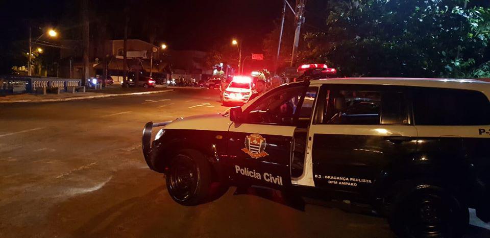 """foto de Forças policiais realizam operação """"Pancadão"""" com mais de 60 policiais em Amparo"""