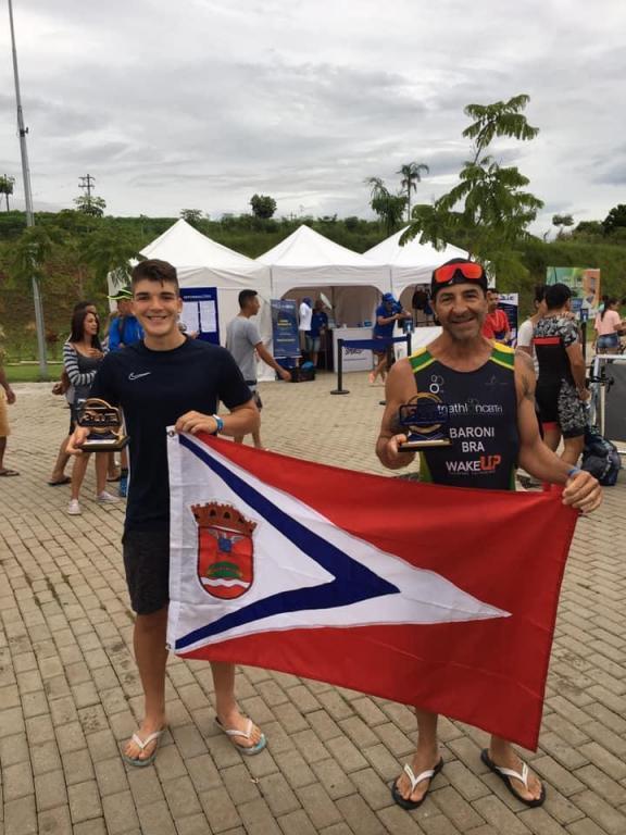 foto de Triatletas vencem primeira etapa do Campeonato Paulista