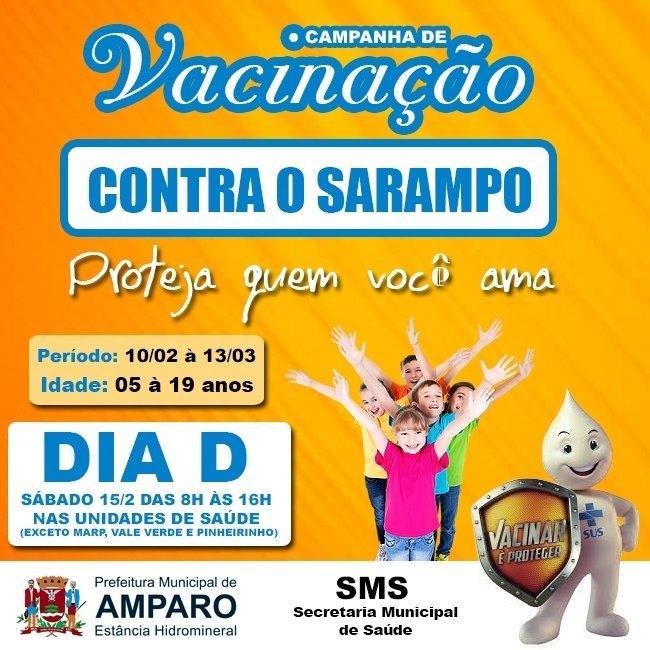 foto de Prefeitura divulga campanha de vacinação contra Sarampo