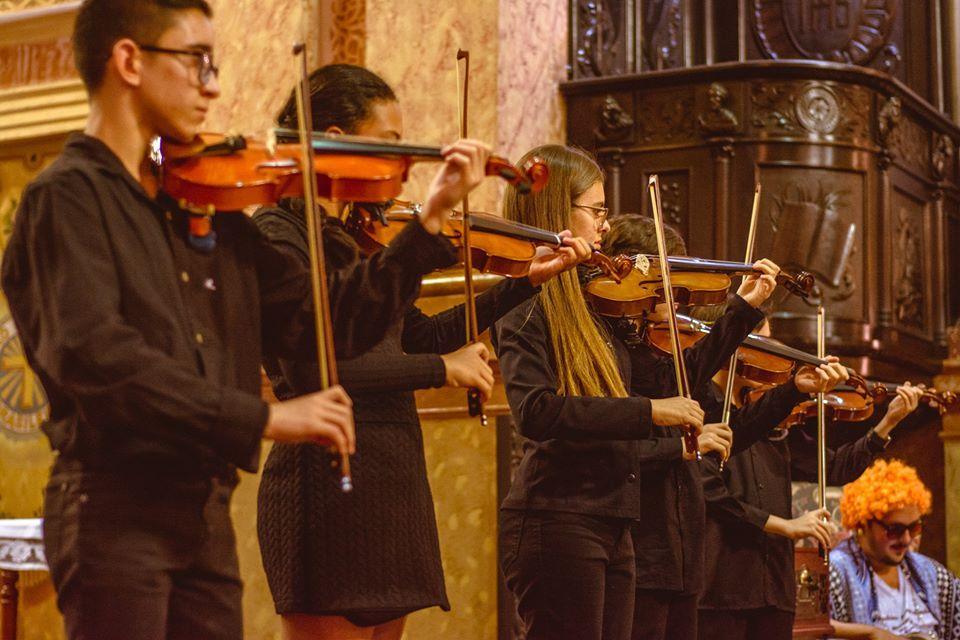 foto de Orquestra Jovem Circuito das Águas (OJCA) oferece 95 vagas para cursos de música