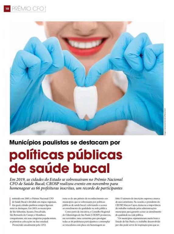 foto de Serra Negra é citada em publicação oficial do Conselho Regional de Odontologia