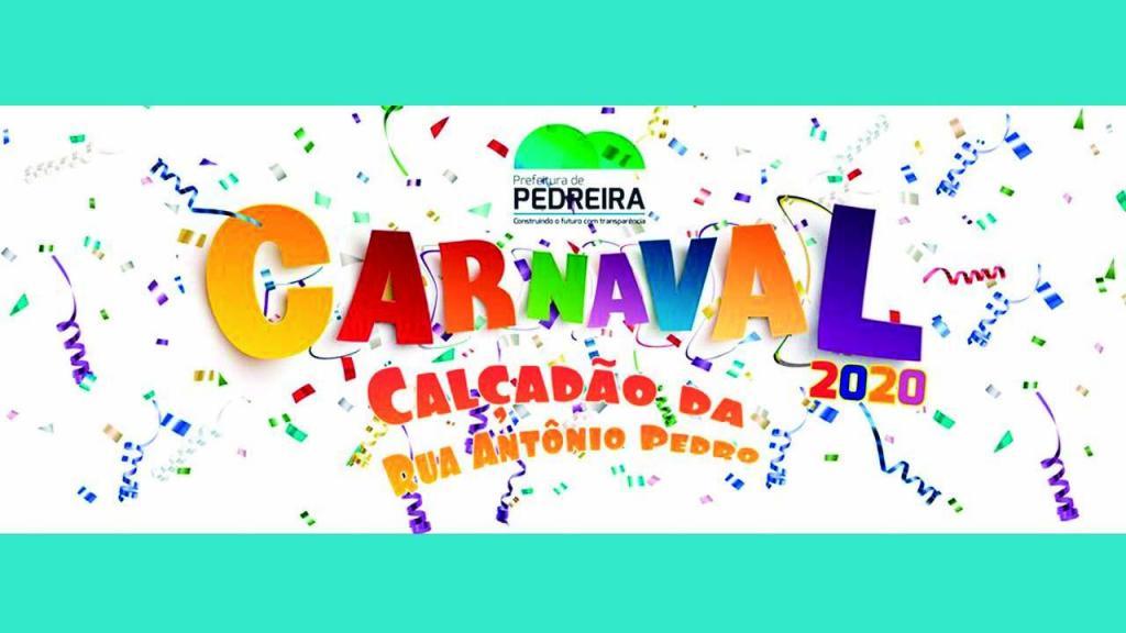 foto de Prefeitura de Pedreira vai realizar carnaval na Rua Antonio Pedro