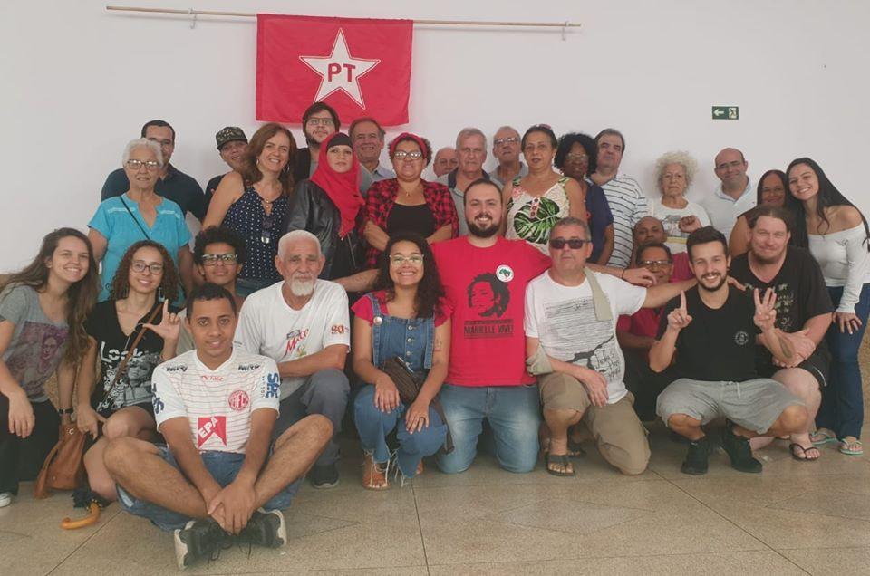 foto de PT de Amparo lança pré-candidatura a Prefeitura