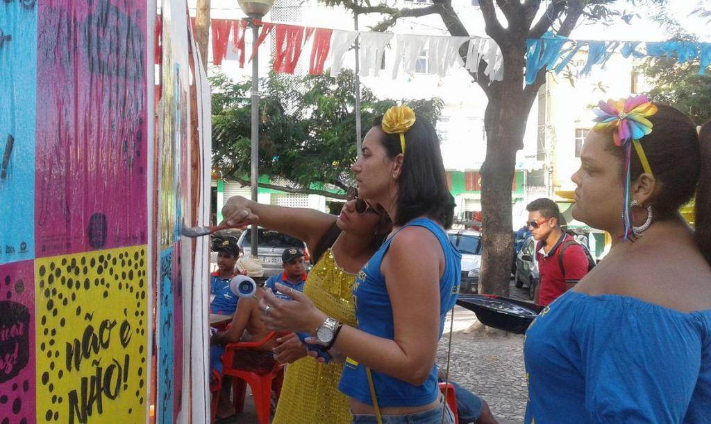 foto de Movimento Não é Não faz 42.900 abordagens no carnaval de São Paulo
