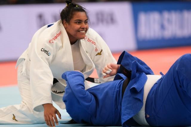 foto de Suelen inicia preparação na Seleção Brasileira de Judô
