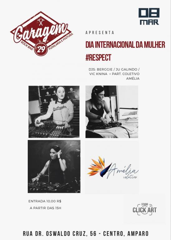 foto de Dia Internacional da Mulher terá evento com DJ mulheres