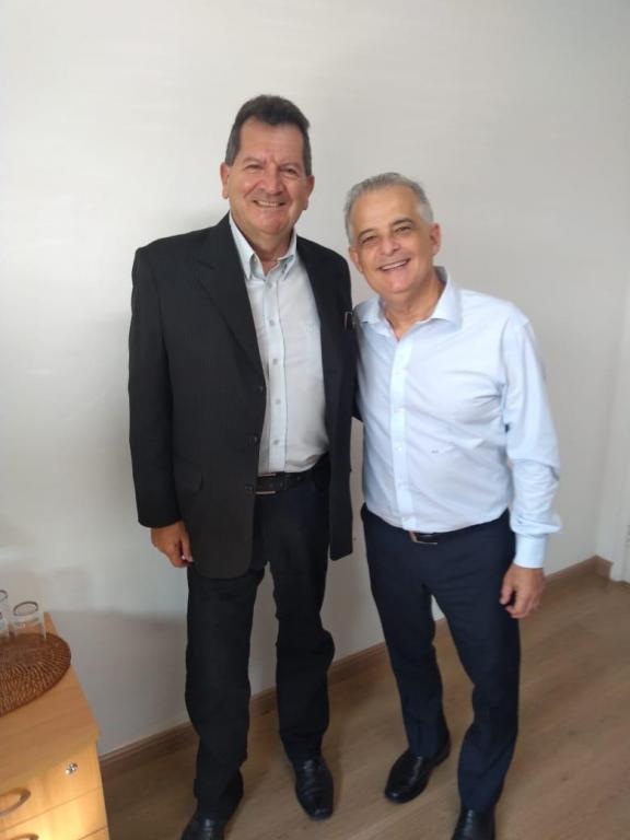 foto de Edgar Jorge se encontra com Márcio França para definir campanha municipal