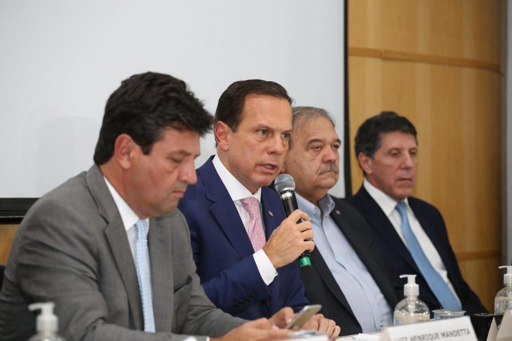 foto de Governo de SP anuncia suspensão de aulas e eventos com mais de 500 pessoas