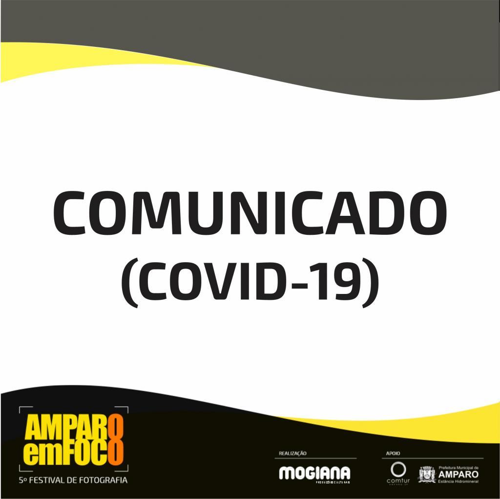 foto de Amparo em Foco 2020 anuncia adiamento devido pandemia de Coronavírus