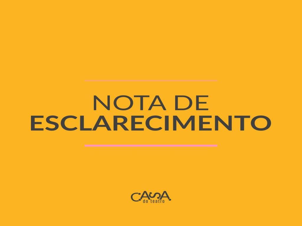 foto de Casa do Teatro suspende atividades devido Coronavírus