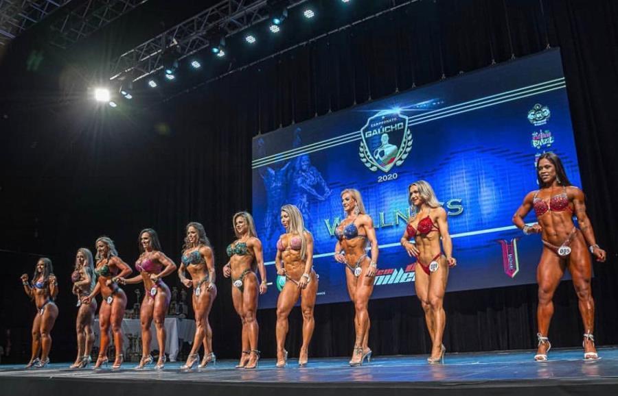 foto de Fisioculturista de Amparo conquista título de campeonato gaúcho