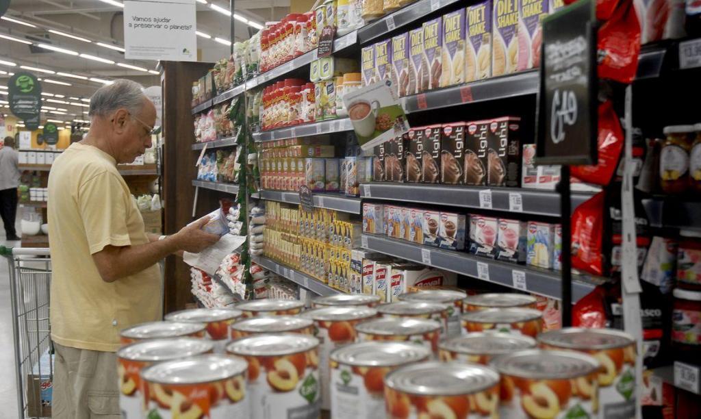 foto de Movimento em supermercados de São Paulo cresce 18%. Não necessidade de estocar alimentos