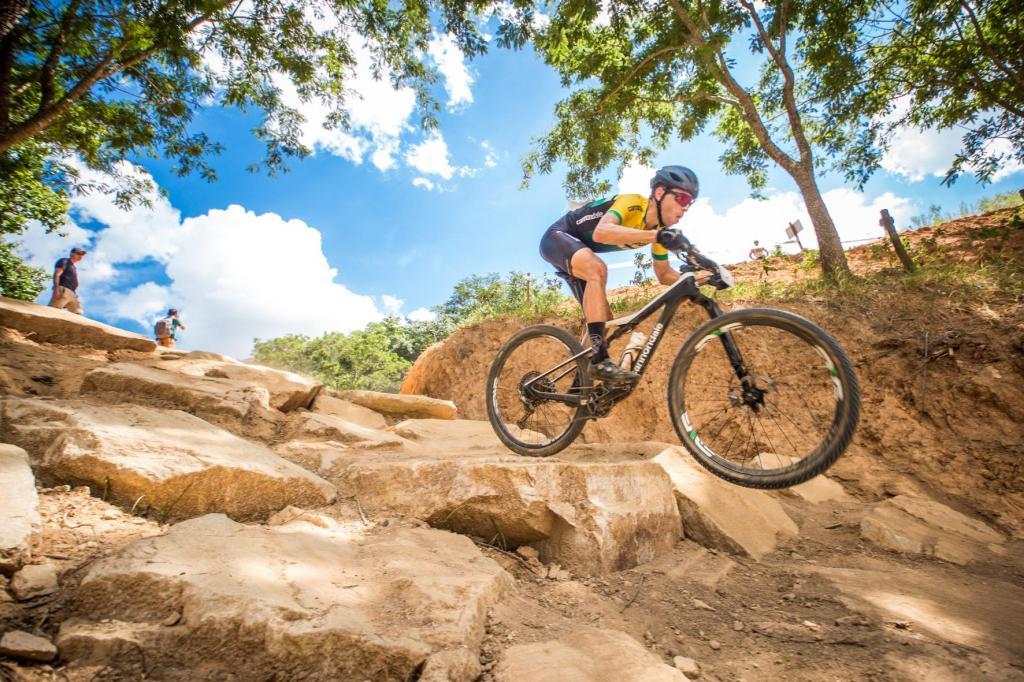 foto de Pista de mountain bike mais moderna da América Latina é inaugurada em Amparo