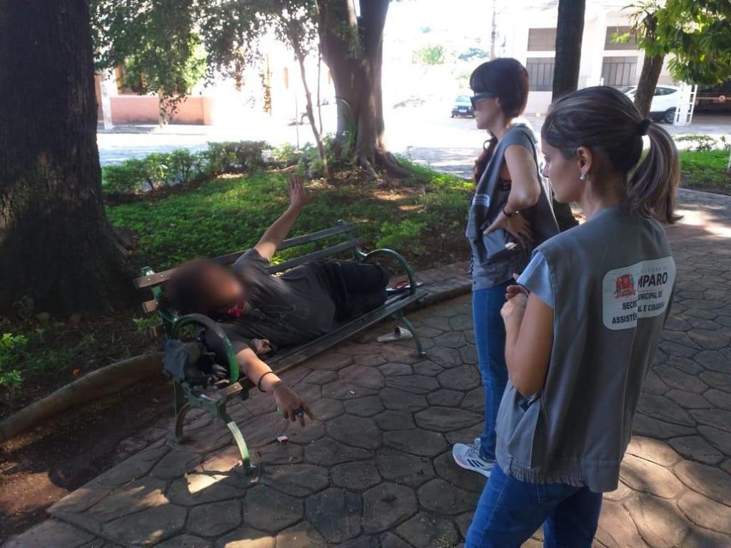 foto de Desenvolvimento Social e Cidadania realizou ações com pessoas em situação de rua
