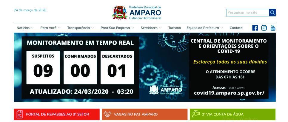 foto de Sobe para nove os casos suspeitos de Covid-19 em Amparo