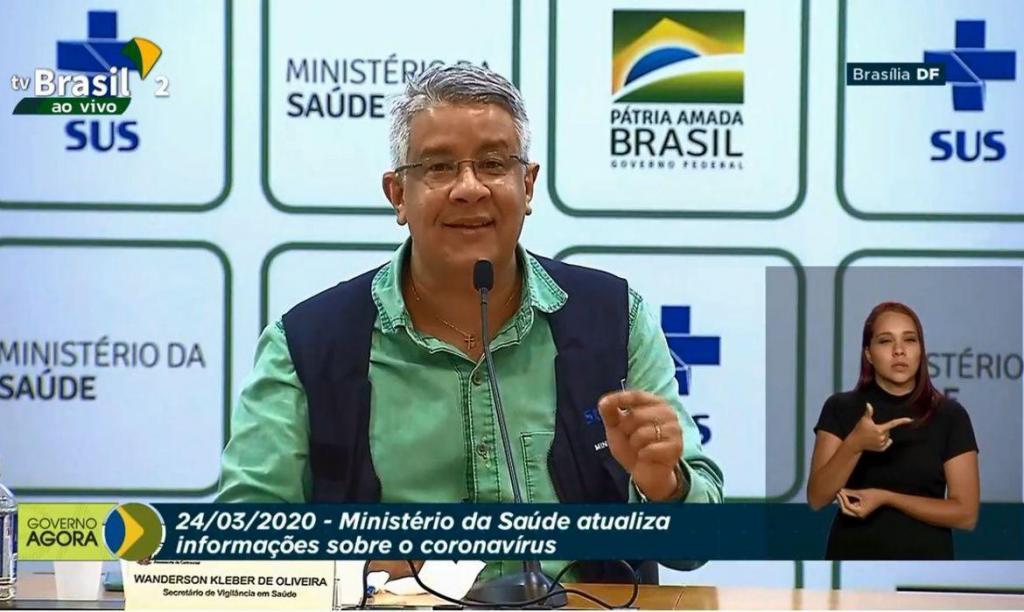 foto de Covid-19: Brasil tem 46 mortes e mais de 2 mil casos confirmados