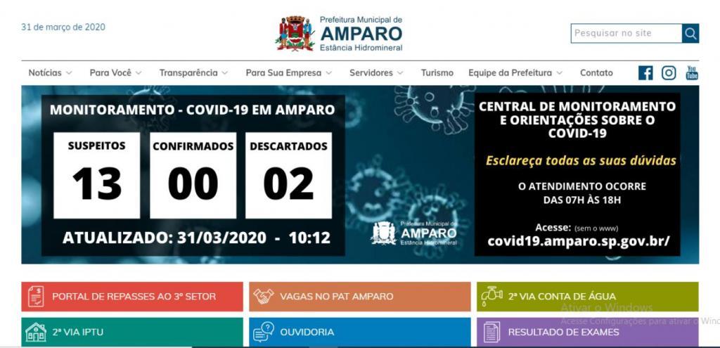 foto de Prefeitura divulga mais um caso suspeito em Amparo