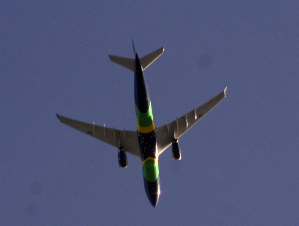 foto de Com o coronavirus os aviões sumiram do céu