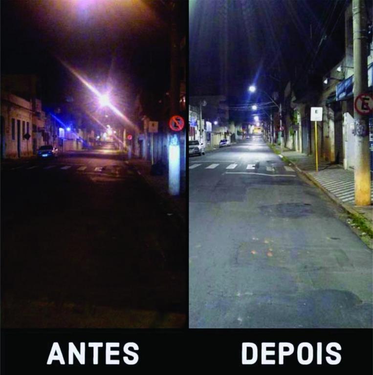foto de Prefeitura de Pedreira iniciou o projeto de implantação de lâmpadas de LED na iluminação pública