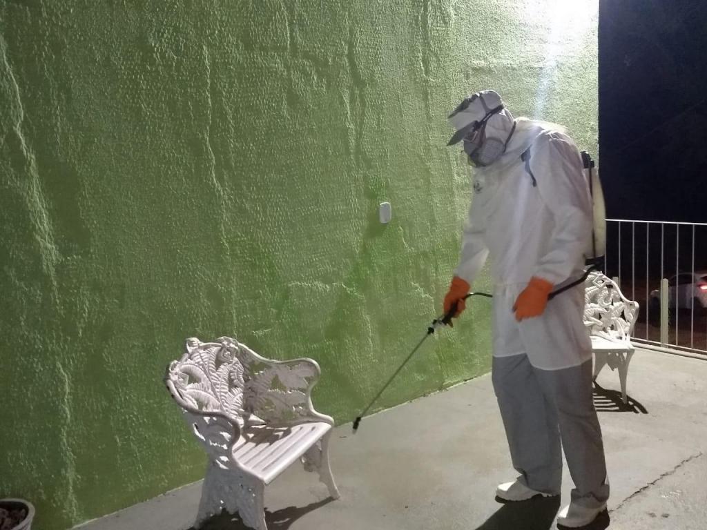 foto de Prefeitura de Serra Negra mantém desinfecção de locais públicos