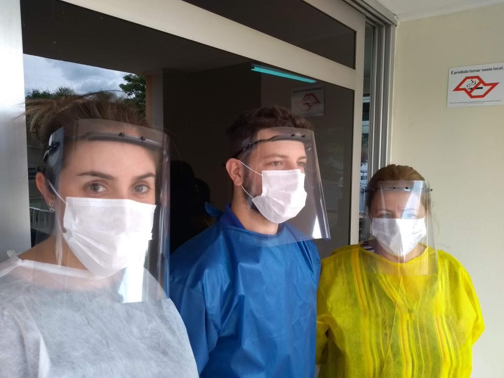 foto de Serra Negra recebe doação de protetores faciais