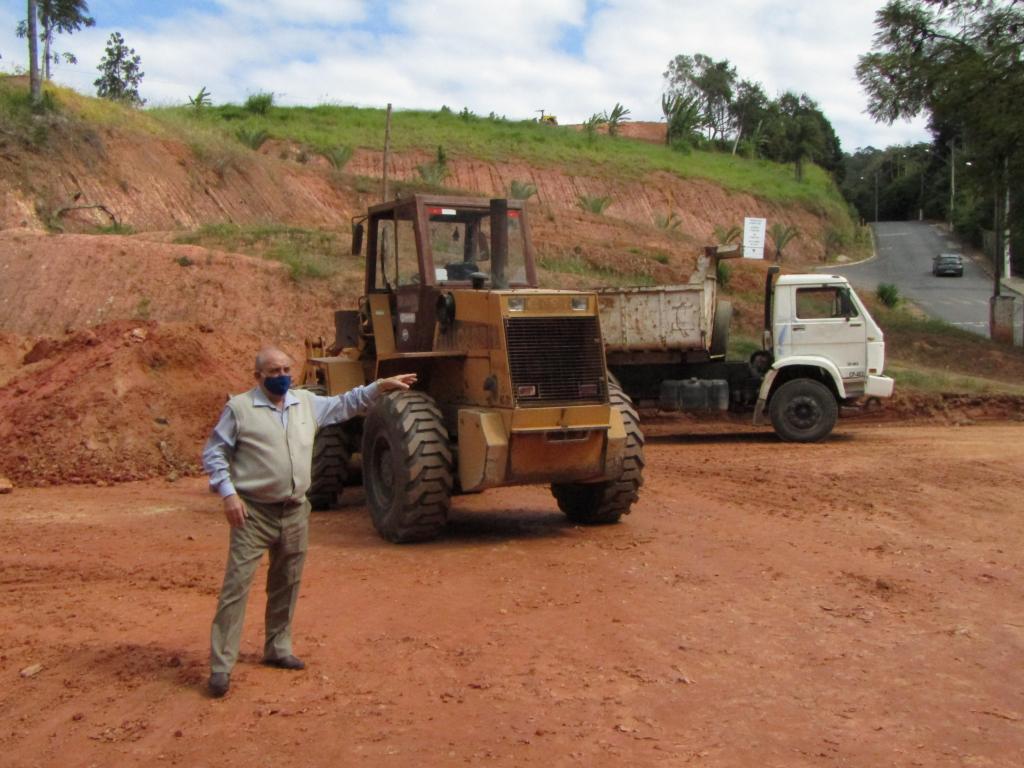 foto de Serra Negra: Terreno é preparado para construção de unidade de saúde