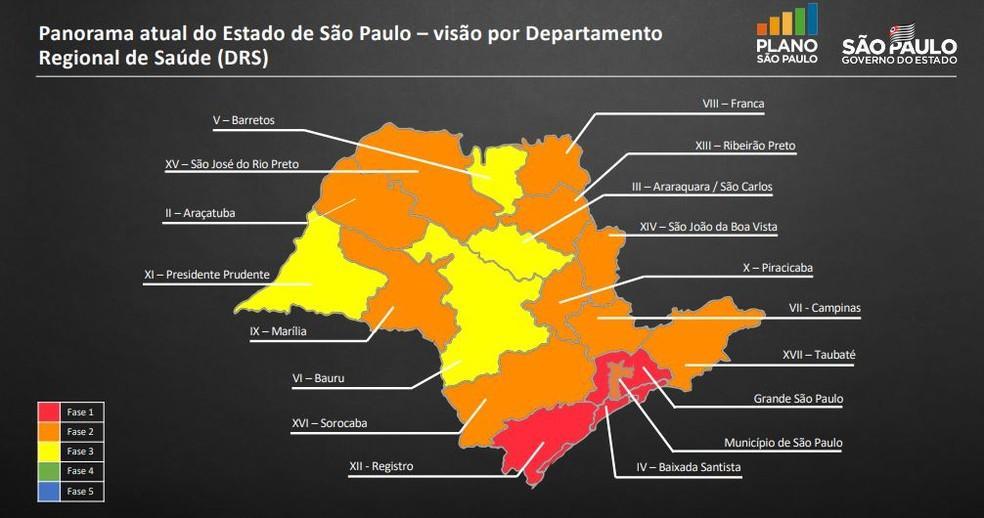 foto de Quarentena em SP é prorrogada por 15 dias com flexibilização progressiva em diferentes regiões do estado. Amparo está na fase laranja