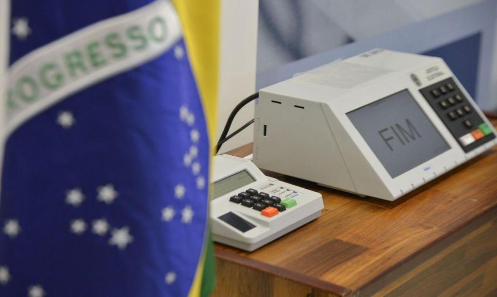 foto de Barroso recebe presidentes da Câmara e do Senado para discutir eleição deste ano