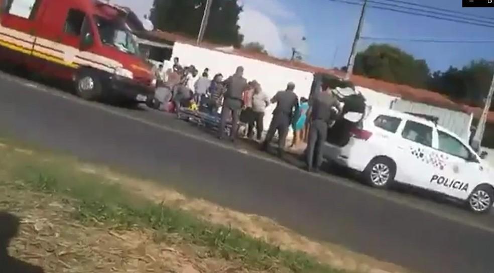 foto de Menino de 8 anos fica ferido após ser atropelado por motociclista com sinais de embriaguez em Amparo