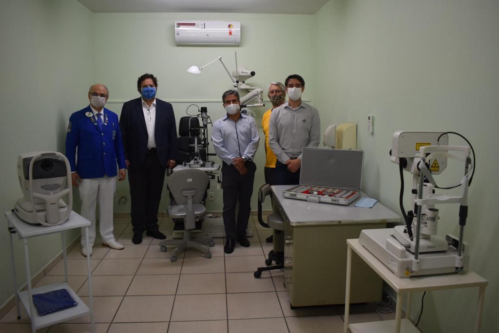 foto de Parceria entre Lions e Prefeitura garante aparelhos oftalmológicos para Amparo