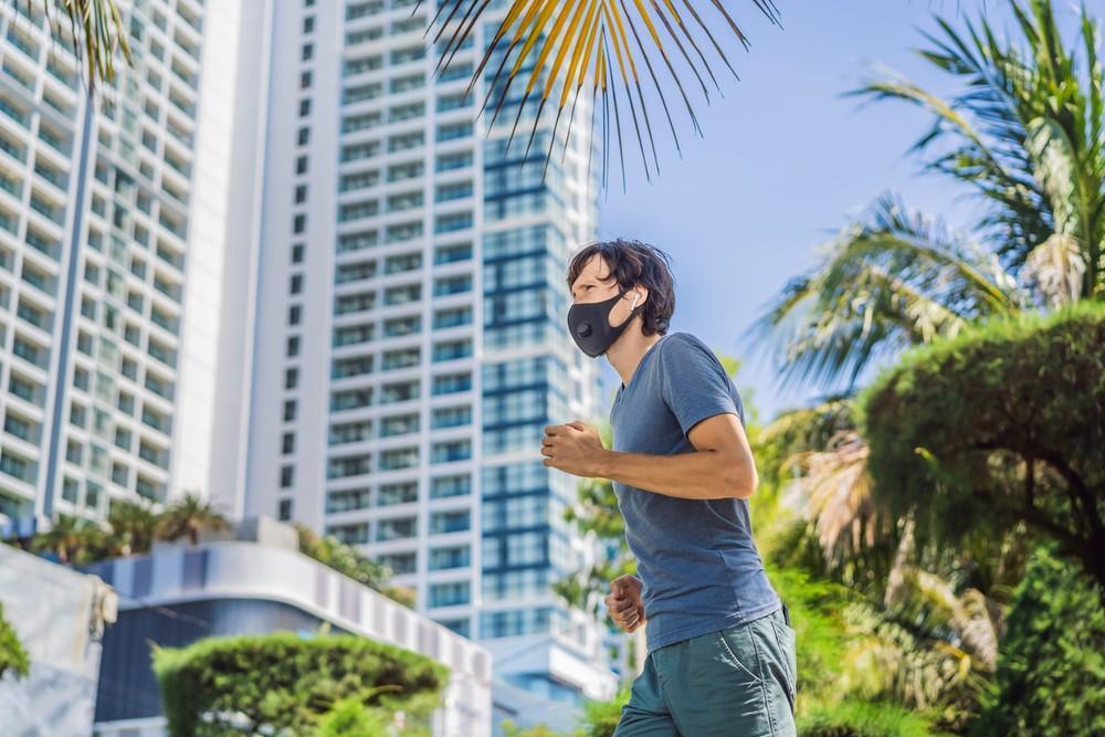 foto de Máscaras no esporte e outras medidas de proteção na pandemia