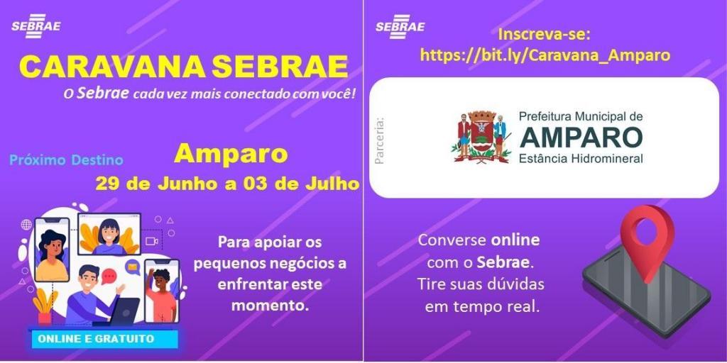 foto de Caravana Sebrae oferece cursos gratuitos online para Amparo