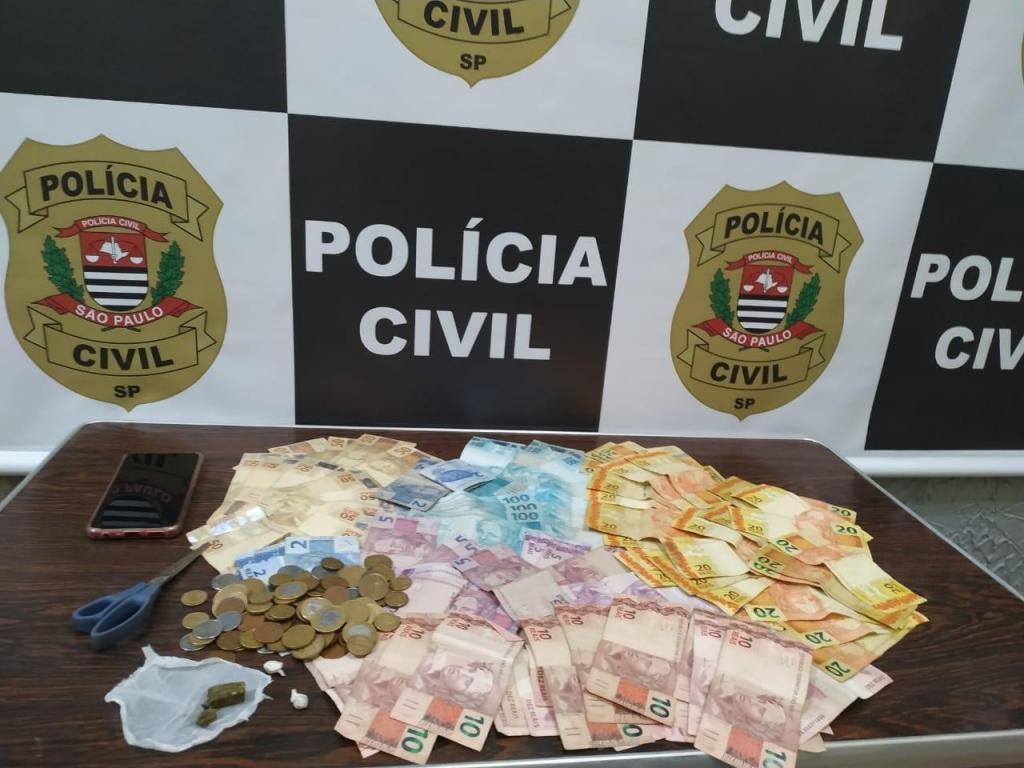 foto de Operação policial em Socorro prende traficante com R$ 3.500 mil