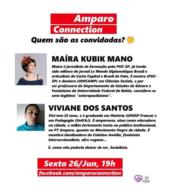 """foto de """"Amparo Connection"""" discute feminismo e direito LGBTQIA+"""