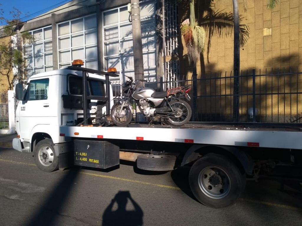 foto de Perseguição termina com motocicleta apreendida