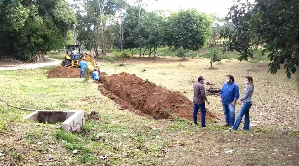 foto de Obras do Sistema de Esgotamento Sanitário e Estações Elevatórias do distrito de Arcadas tem início