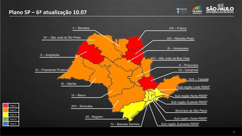 foto de Prefeito publica decreto retornando o município para a fase vermelha do Plano SP