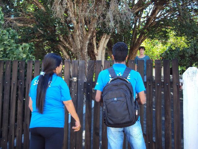 """foto de """"Abra as portas para o agente de saúde"""" acontece desde segunda-feira em Serra Negra"""