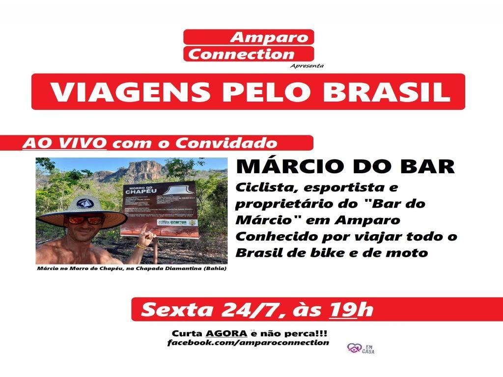 foto de Viagens pelo Brasil é tema do Amparo Connection