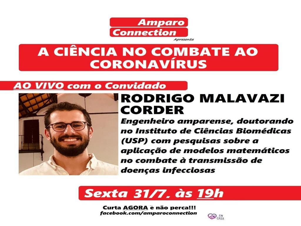 foto de Amparo Connection discute a ciência no combate ao coronavírus