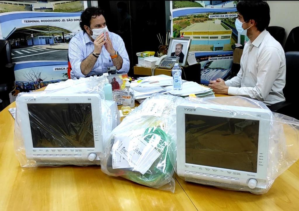 foto de Governo Federal envia dois novos respiradores para Amparo