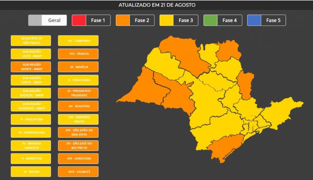foto de Amparo segue Governo do Estado de São Paulo e flexibiliza ainda mais fase amarela