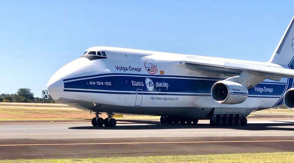 foto de Segundo maior avião cargueiro do mundo pousa em Viracopos