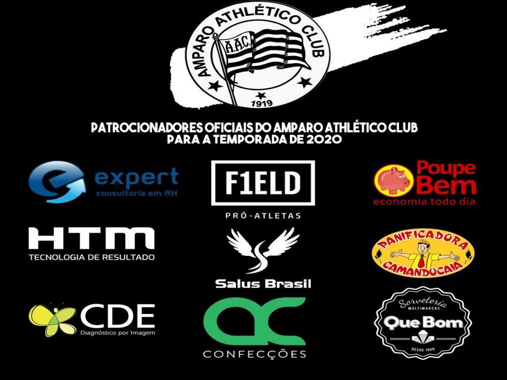 foto de Amparo Athlético Club apresenta patrocinadores do futebol profissional
