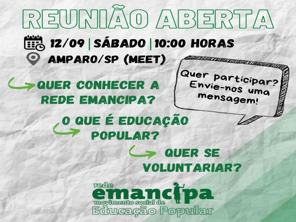 foto de Educadores voluntários iniciam projeto Rede Emancipa