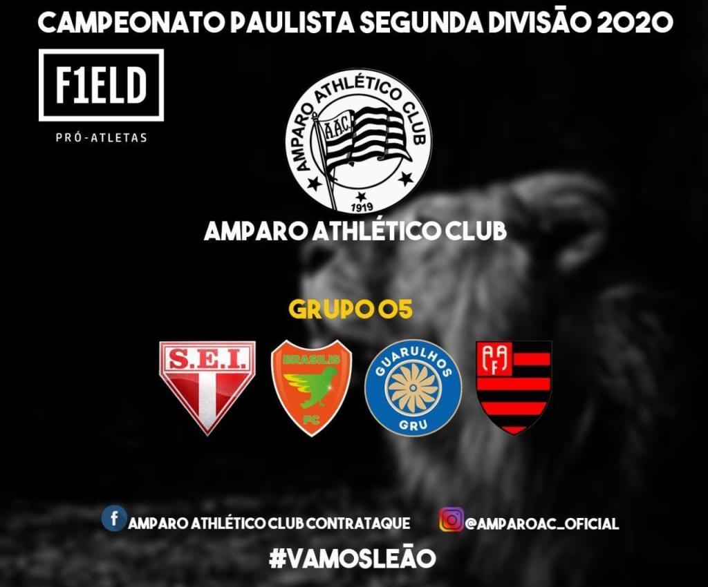 foto de FPF divulga grupos e tabela de jogos do Amparo no Campeonato Paulista de Futebol – Segunda Divisão