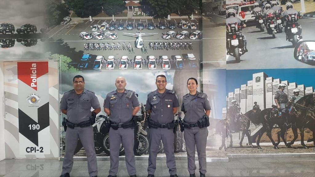 foto de Policiais Militares participaram de evento em comemoração aos 27 anos do Proerd