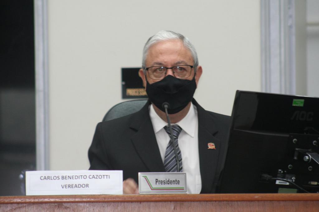 foto de Carlos Cazotti é o novo presidente da Câmara Municipal de Amparo