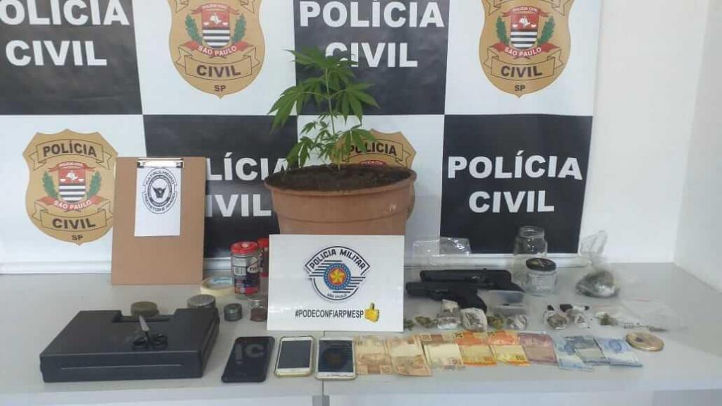 foto de Casal é detido em Monte Alegre do Sul